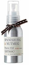 Profumi e cosmetici Bath House Spanish Fig and Nutmeg - Olio da barba
