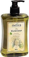 Profumi e cosmetici Sapone liquido con estratto di oliva - Melica Organic Olive Liquid Soap