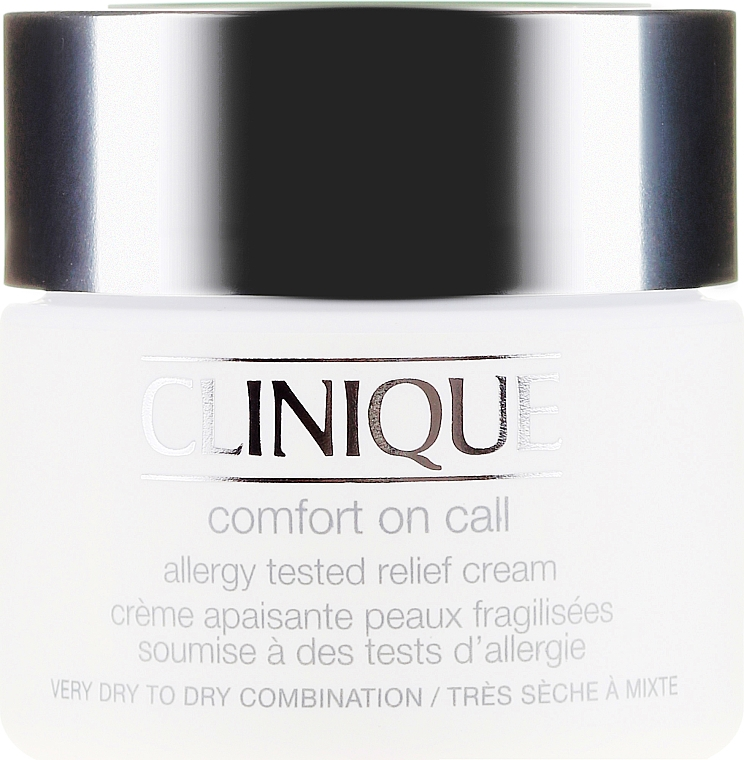 Crema nutriente - Clinique Comfort On Call Allergy Tested Relief Cream — foto N2