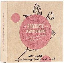 """Profumi e cosmetici Sapone naturale """"Gelsomino"""" - Essencias De Portugal Senses Jasmine Soap With Olive Oil"""