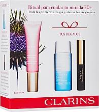 Profumi e cosmetici Set - Clarins Multi Active Yeux Set (eye/cr/15ml+makeup/remover/30ml+mascara/3.5ml)