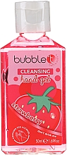 "Profumi e cosmetici Gel detergente antibatterico ""Fragola"" - Bubble T Cleansing Hand Gel Strawberry"