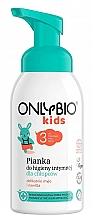 Profumi e cosmetici Schiuma igiene intima, per bambini dai 3 anni - Only Bio Foam For Intimate Hygiene For Boys