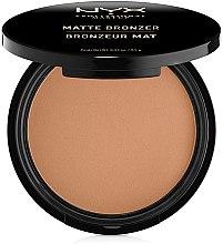 Profumi e cosmetici Cipria abbronzante opacizzante - NYX Professional Makeup Matte Bronzer