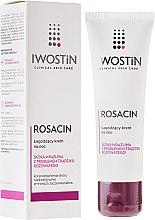 Profumi e cosmetici Crema lenitiva da notte per viso - Iwostin Rosacin Redness Reducing Night Cream