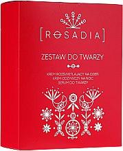 Profumi e cosmetici Set - Rosadia (cr/2x50ml + ser/30ml)