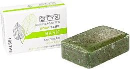"Profumi e cosmetici Sapone tonificante ""Sage"" - Styx Naturcosmetic Basic Soap With Sage"