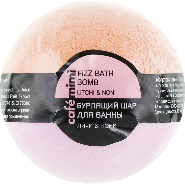"""Bomba da bagno """"Lychee and Noni"""" - Cafe Mimi Bubble Ball Bath"""