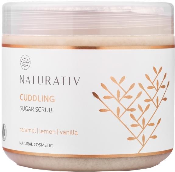 """Scrub zuccherato corpo """"Caramello, limone e vaniglia"""" - Naturativ Cuddling Body Sugar Scrub — foto N3"""
