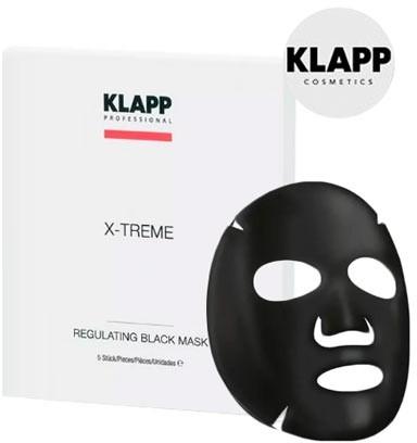 Maschera regolante nera - Klapp X-Treme Regulating Black Mask — foto N1