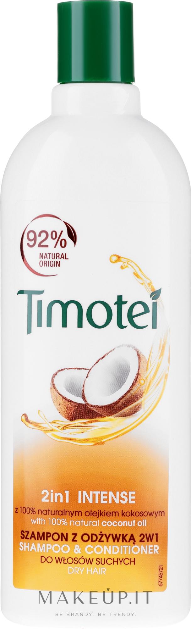 """Shampoo-conditionante 2in1 """"Rosa di Gerico e olio di cocco"""" - Timotei Jericho Rose Shampoo & Conditioner — foto 400 ml"""