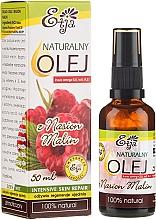 Profumi e cosmetici Olio naturale di semi di lampone - Etja Natural Raspberry Seed Oil
