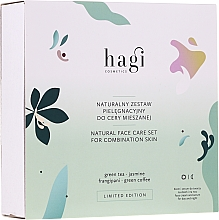 Profumi e cosmetici Set - Hagi Natural Face Care Set (cr/30ml + ser/30ml)