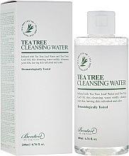 Profumi e cosmetici Acqua purificante con l'albero del tè - Benton Tea Tree Cleansing Water