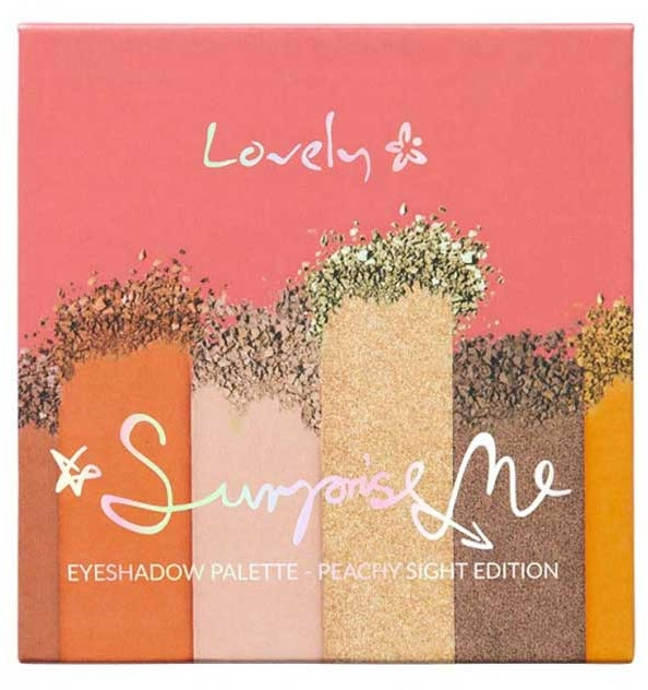 Palette ombretti - Lovely Surprise Me Eyeshadow Palette Peachy Sight Edition