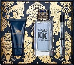 Profumi e cosmetici Dolce&Gabbana K by Dolce&Gabbana - Set (edt/100ml + sh/gel/50ml + edt/mini/10ml)