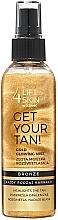Profumi e cosmetici Mist corpo - Lift4Skin Get Your Tan! Gold Glowing Mist