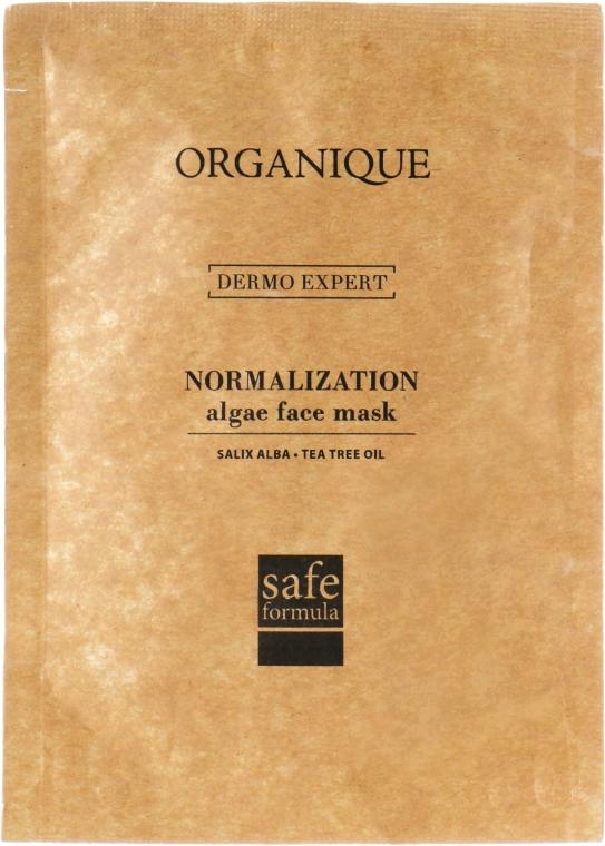 Maschera viso alginata contro l'acne - Organique Algae Mask Anti-Acne — foto N1