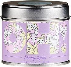 "Profumi e cosmetici Candela profumata ""Arcobaleno"" - Oh!Tomi Fruity Lights Rainbow Candle"