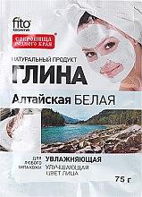 """Profumi e cosmetici Argilla bianca idratante per viso e corpo """"Altai"""" - Fito cosmetica"""