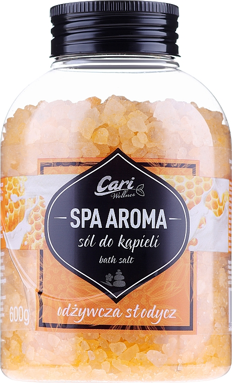 "Sale da bagno ""Miele"" - Cari Spa Aroma Salt For Bath"
