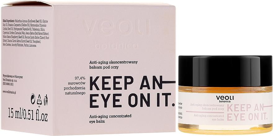 Balsamo contorno occhi concentrato antietà - Veoli Botanica Anti-aging Concentrated Eye Balm Keep An Eye On It