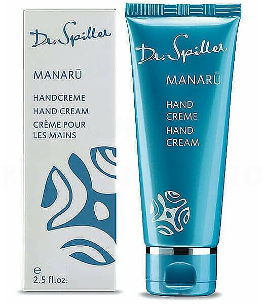 Crema mani - Dr. Spiller Manaru Hand Cream — foto N1