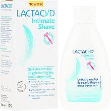Profumi e cosmetici Emulsione delicata per la rasatura e igiena intima - Lactacyd Intimate Shave