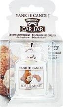 Profumi e cosmetici Profumo per auto - Yankee Candle Car Jar Ultimate Soft Blanket