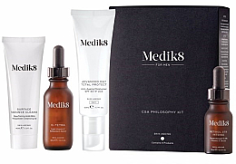 Profumi e cosmetici Set - Medik8 CSA Philosophy Kit For Men (clencer/40ml + f/cer/30ml + f/cr/50ml +f/ser/15ml)