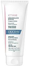 Profumi e cosmetici Crema nutriente emolliente per viso e corpo - Ducray Ictyane Emollient Nutritive Anti-Dryness Face & Body Cream