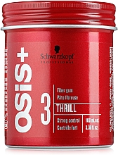 Profumi e cosmetici Cocktail-gel per acconciature - Schwarzkopf Professional Osis+ Thrill Texture Fibre Gum