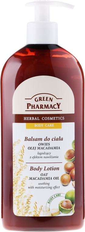 """Lozione corpo """"Avena e camomilla"""" - Green Pharmacy"""