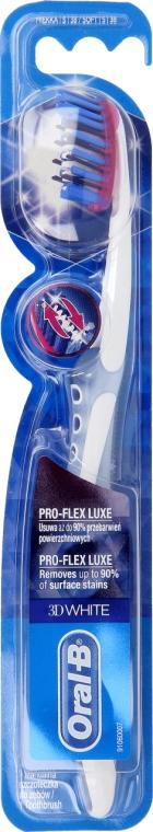 Spazzolino da denti, morbido, grigio - Oral-B Proflex 3D White Luxe 38 Soft — foto N1