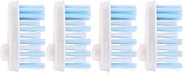 Profumi e cosmetici Spazzolino di ricambio, morbido - Yaweco Toothbrush Heads Nylon Soft