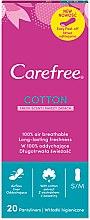 Profumi e cosmetici Assorbenti igienici giornalieri, 20pz - Carefree Cotton Fresh Scent