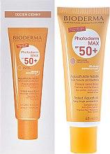 Profumi e cosmetici Emulsione Solare Colorata - Bioderma Photoderm Max Spf 50+ Ultra-Fluide Teinte