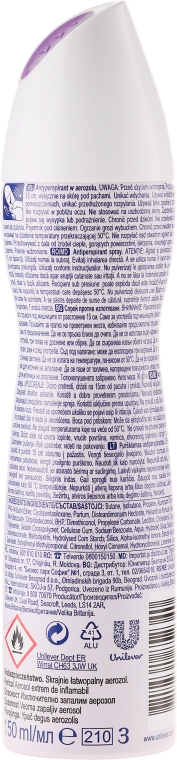 Deodorante-spray - Rexona MotionSense Sensitive 48h — foto N2