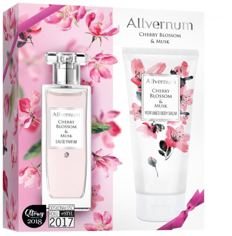 Allverne Cherry Blossom & Musk - Set (edp/50ml + b/lot/200ml)
