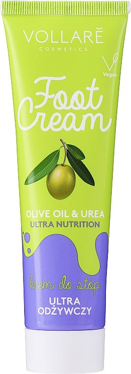 Crema per piedi - Vollare Cosmetics De Luxe Ultra Nutrition Oile&Urea Foot Cream