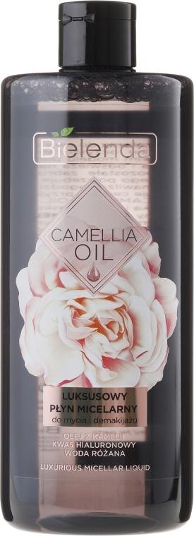 Acqua micellare detergente - Bielenda Camellia Oil Luxurious Micellar Liquid