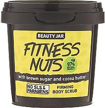 Profumi e cosmetici Scrub corpo rassodante Fitness Nuts - Beauty Jar Firming Body Scrub