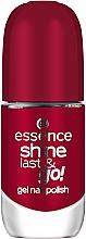 Profumi e cosmetici Smalto con effetto gel polish - Essence Shine Last & Go! Gel Nail Polish