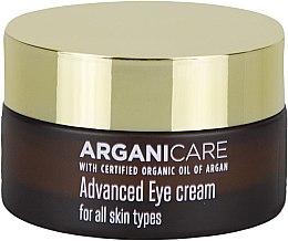 Profumi e cosmetici Crema contorno occhi levigante - Arganicare Shea Butter Advanced Eye Cream