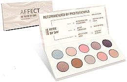 Profumi e cosmetici Palette di ombretti pressati - Affect Cosmetics Nude By Day Eyeshadow Palette