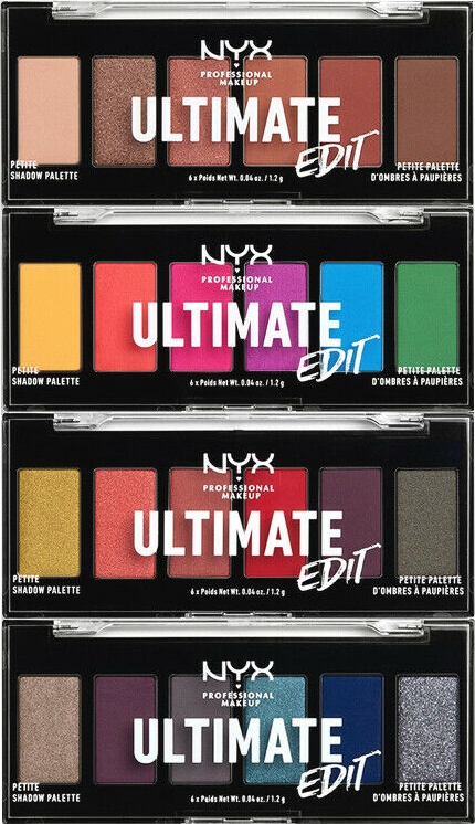 Palette ombretti - NYX Professional Makeup Ultimate Edit Petite Shadow Palette