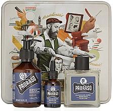 Profumi e cosmetici Set - Proraso Azur Lime Beard Kit (balm/100ml + shmp/200ml + oil/30ml)