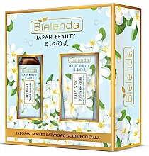 Profumi e cosmetici Set - Bielenda Japan Beauty Jasmine Extract And Tsubaki Oil (b/oil/400ml + body/cr/200ml)