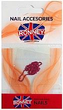 Profumi e cosmetici Catena per nail art, 00378, rosa dorato - Ronney Professional