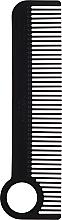 Profumi e cosmetici Spazzola per capelli, nera - Chicago Comb Co CHICA-1-CF Model № 1 Carbon Fiber